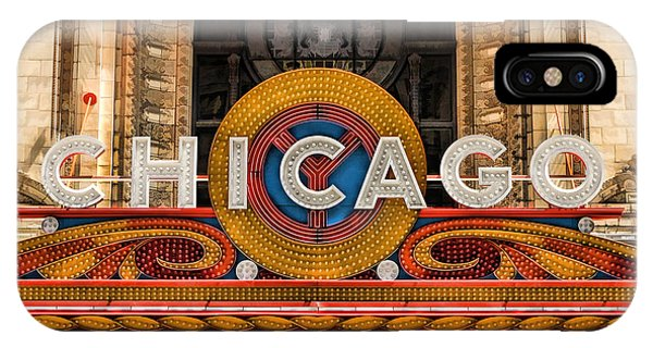 Chicago Theatre Marquee Sign IPhone Case