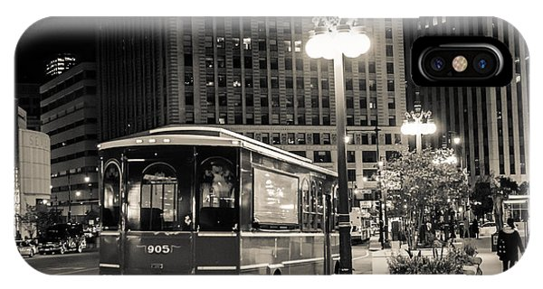 Chicago Trolly Stop IPhone Case