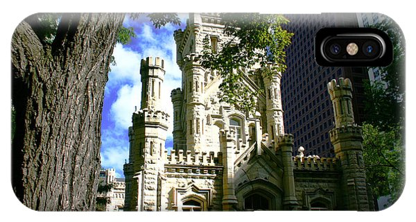 Chicago Water Tower Castle IPhone Case