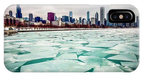 Chicago Winter Skyline IPhone Case