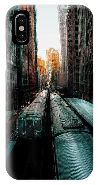 Railroad Station iPhone Case - Chicago's Station by Carmine Chiriac?