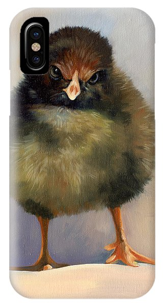 Chick With Attitude IPhone Case