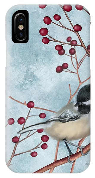Chickadee I IPhone Case