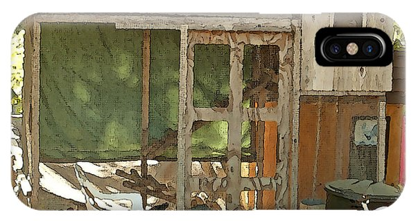 Chicken Coop On The Farm Phone Case by Artist and Photographer Laura Wrede