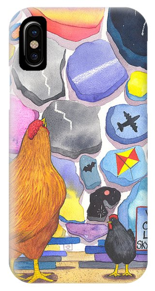 Chicken Littles Sky Collection IPhone Case