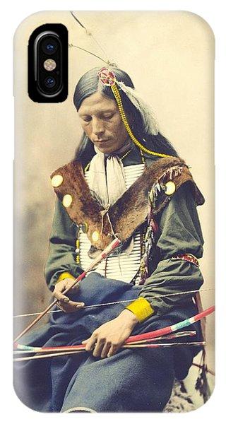 Chief Bone Necklace - Sinte IPhone Case