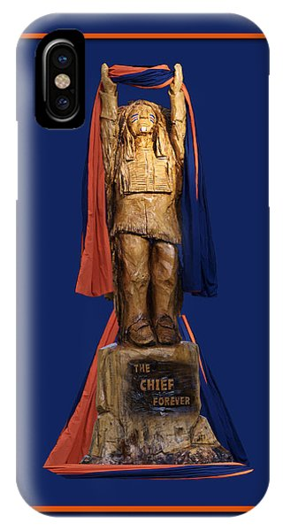 Chief Illiniwek University Of Illinois 05 IPhone Case