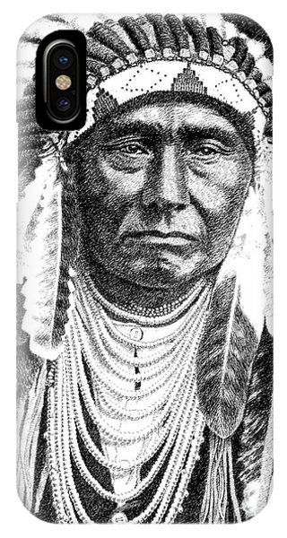 Chief-joseph IPhone Case