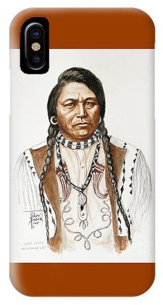 Chief Ouray IPhone Case