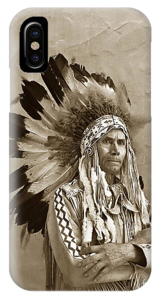 Chief Red Eagle Carmel California Circa 1940 IPhone Case