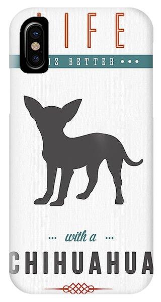Chihuahua 01 IPhone Case