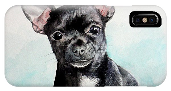 Chihuahua Black IPhone Case