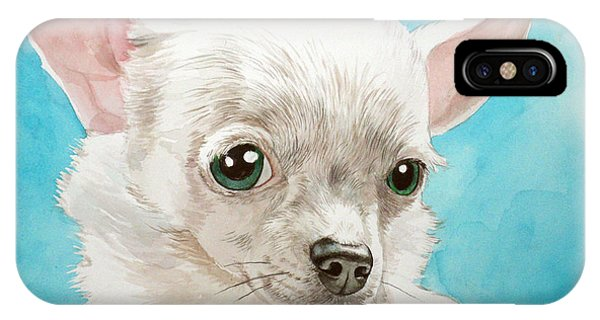 Chihuahua Dog White IPhone Case