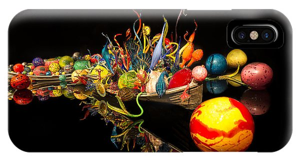 Chihuly Float Boat IPhone Case