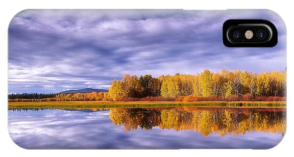 Chilcotin Autumn  IPhone Case