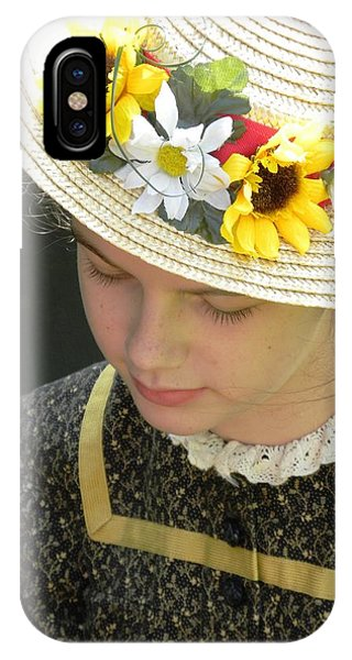 Child In Thought IPhone Case