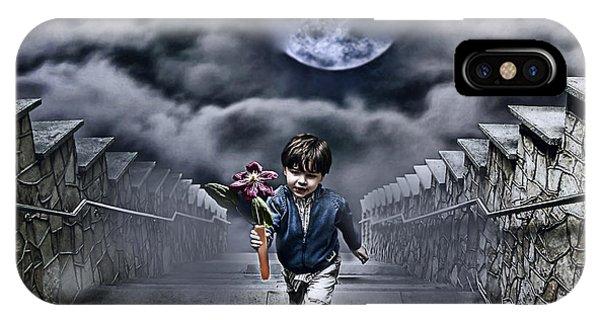 Boys iPhone Case - Child Of The Moon by Joachim G Pinkawa