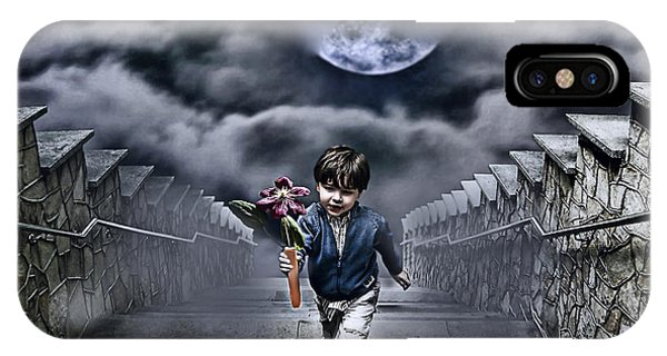 Cloud iPhone Case - Child Of The Moon by Joachim G Pinkawa