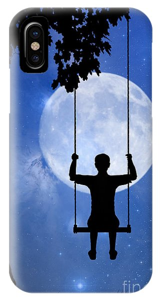 Childhood Dreams 2 The Swing IPhone Case