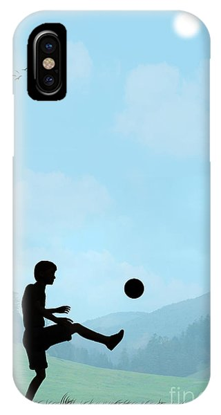 Childhood Dreams Football IPhone Case
