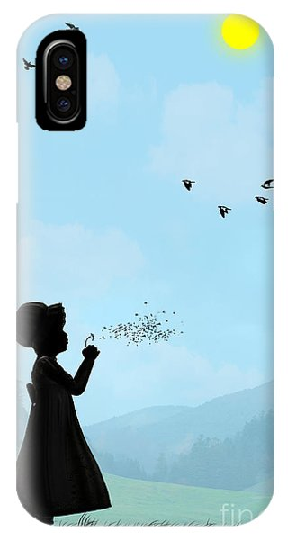 Childhood Dreams One O Clock IPhone Case