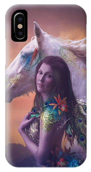 Cassiopeiaart iPhone Case - Children Of Rihm by Cassiopeia Art