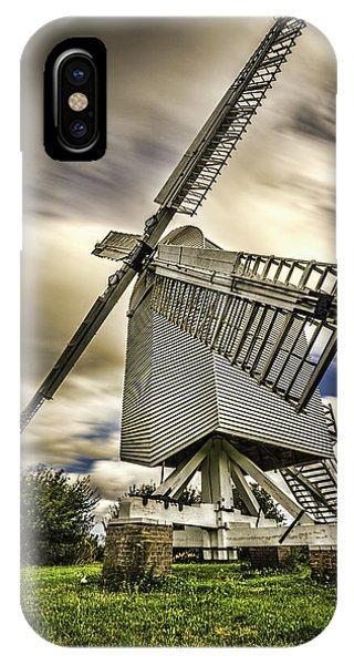 Chillenden Windmill Kent IPhone Case
