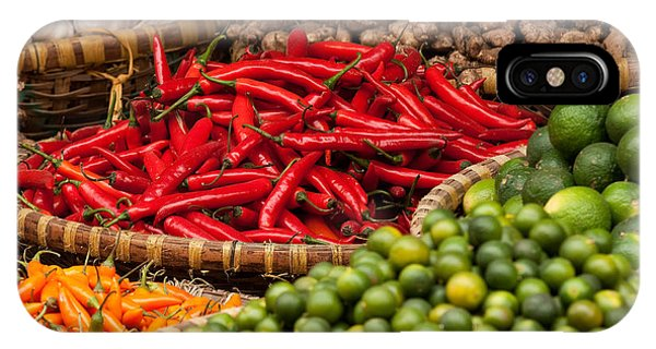 Chillies 01 IPhone Case
