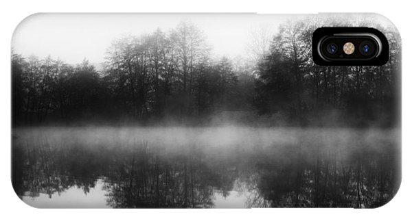Chilly Morning Reflections IPhone Case