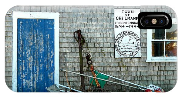 Chilmark Dock Shack IPhone Case