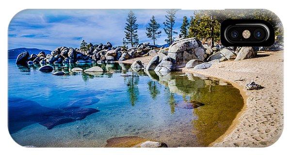 Chimney Beach Lake Tahoe Shoreline IPhone Case