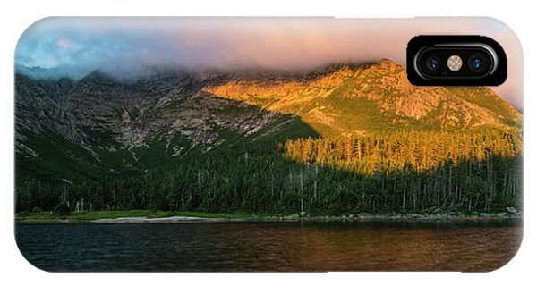 Appalachian Mountains iPhone Case - Chimney Pond And Mount Katahdin by Jerry Monkman