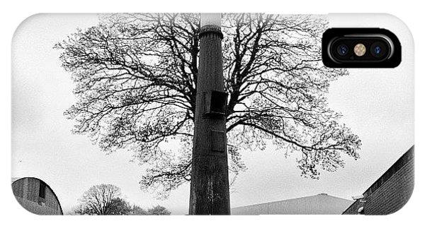 Steampunk iPhone Case - Chimney Tree by Carlos Macia Perez