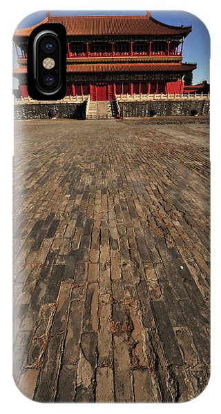 Forbidden City iPhone Case - China, Beijing, Forbidden City by Anthony Asael