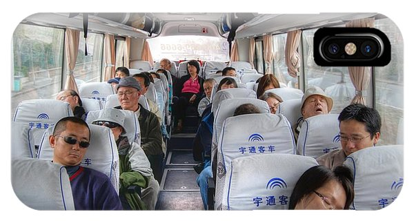 China Bus Ride  IPhone Case