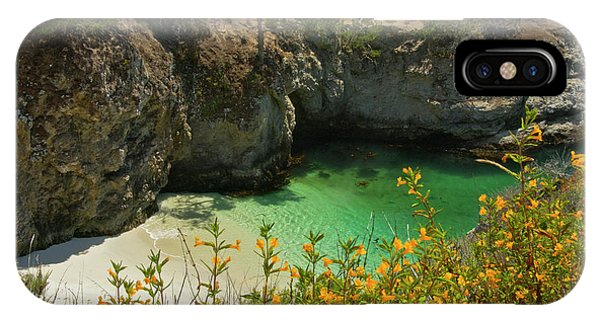 China Cove And Beach, Point Lobos State IPhone Case