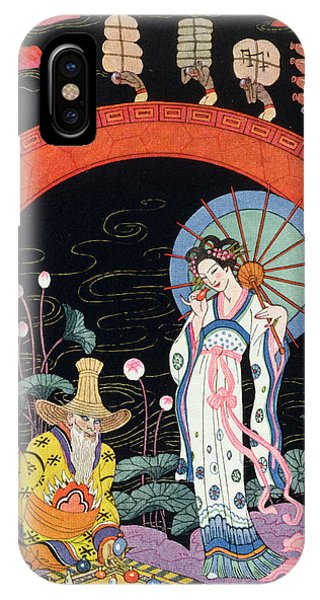 Representation iPhone Case - China by Georges Barbier