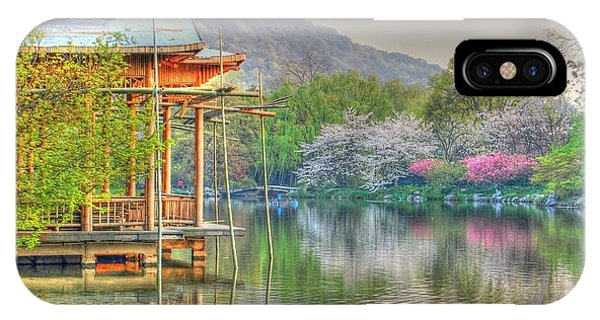 China Lake House IPhone Case