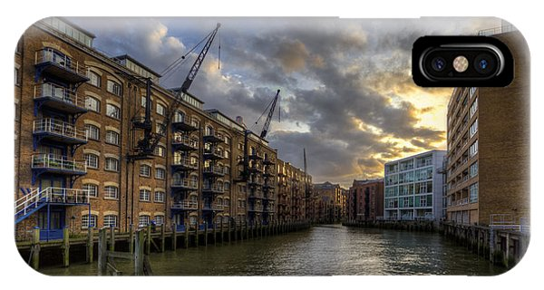 China Wharf IPhone Case