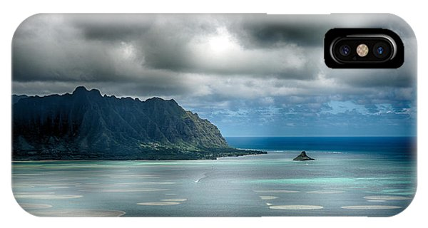 Chinaman's Hat From Puu Maelieli IPhone Case