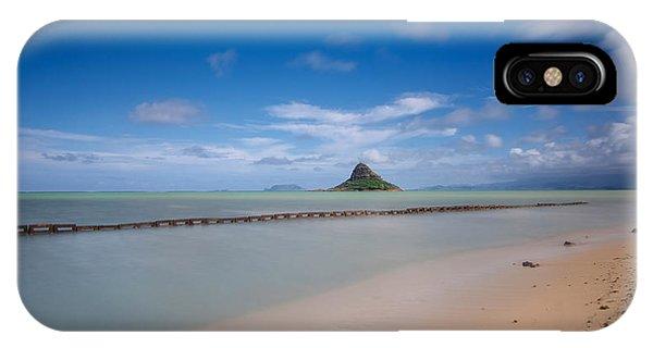 Chinaman's Hat Mokolii In Hawaii IPhone Case