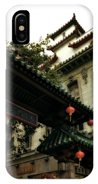 Chinatown Entrance IPhone Case