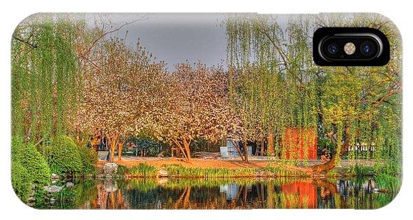 Chineese Garden IPhone Case