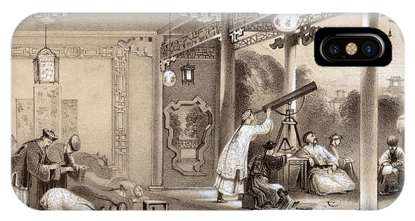 Chinese Ceremonies Performed  When An Phone Case by Mary Evans Picture Library