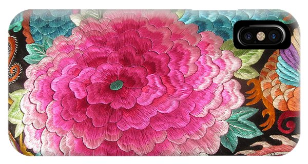 Chinese Embroidery Art IPhone Case