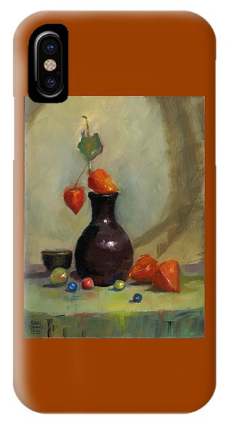 Chinese Lanterns And Marbles IPhone Case