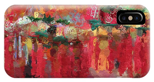 China Town iPhone Case - Chinese New Year by Steve K