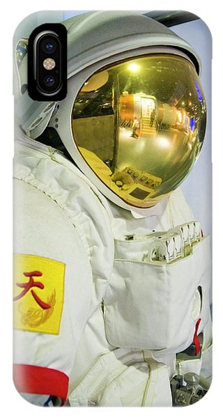 Infrared Radiation iPhone Case - Chinese Spacesuit. by Mark Williamson/science Photo Library