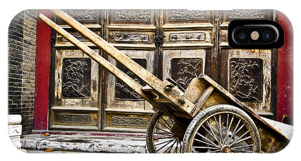 Chinese Wagon In Color Xi'an China IPhone Case