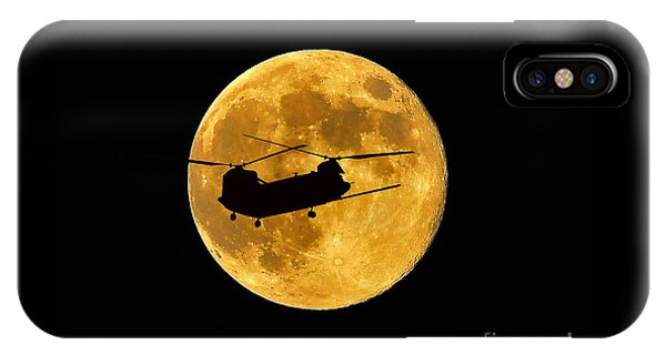 Chinook Moon Color IPhone Case